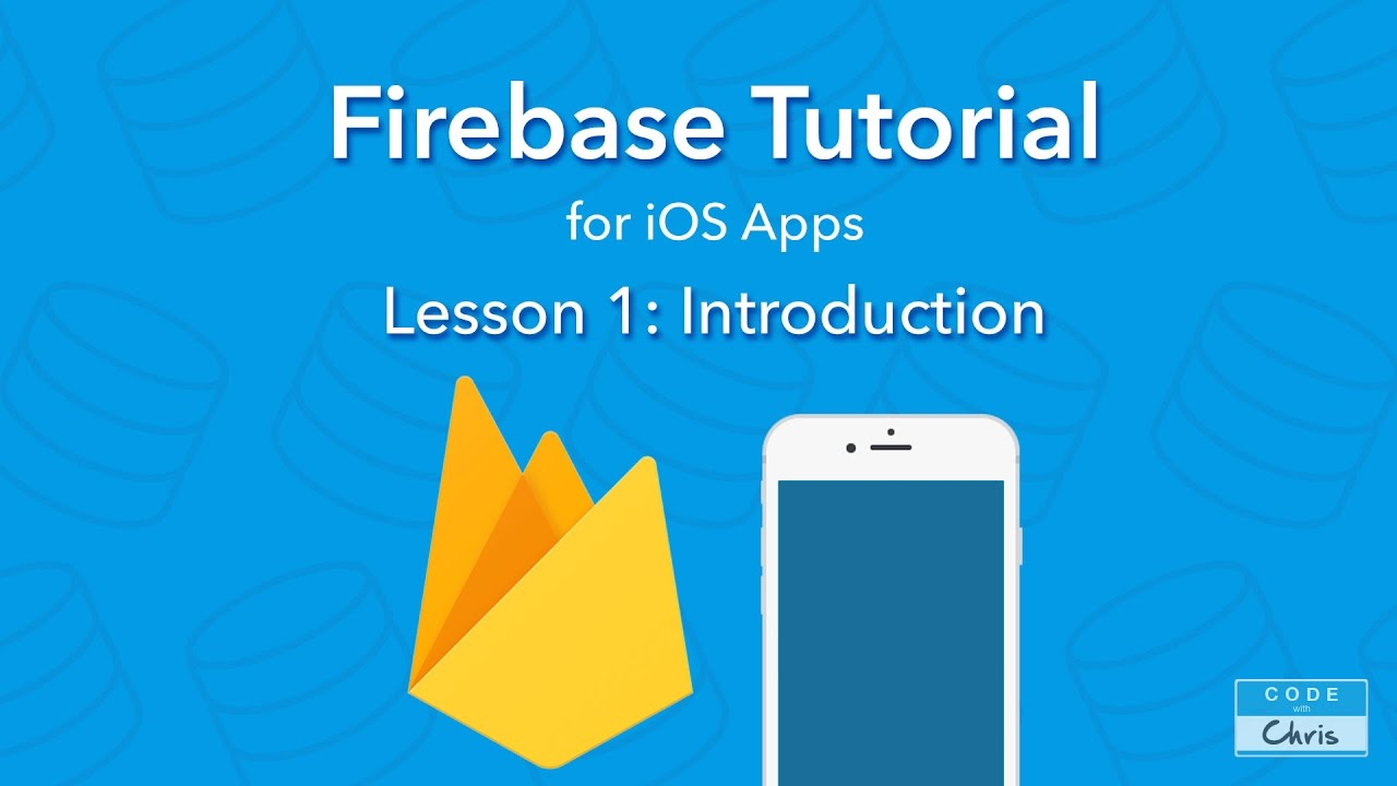 Firebase Tutorial for iOS - Ep 1 - Introduction