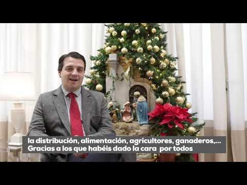 El alcalde de Córdoba felicita la Navidad a los cordobeses