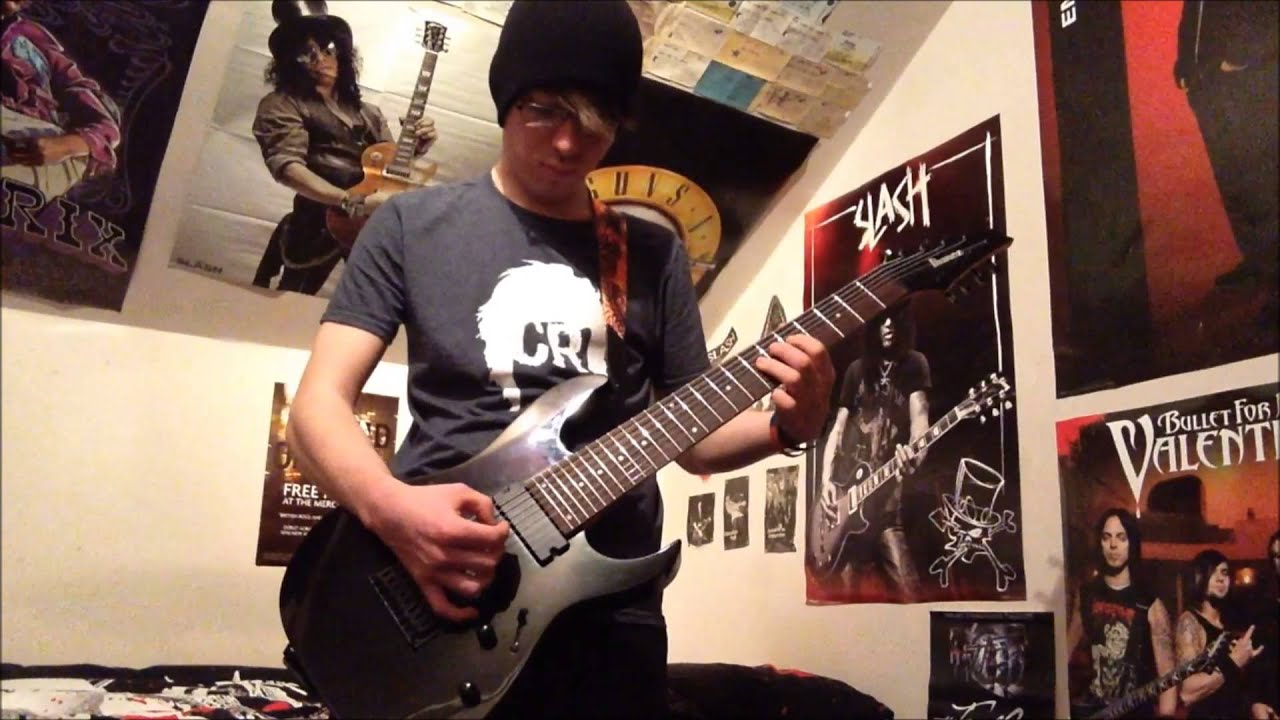 ibanez rg8 review youtube