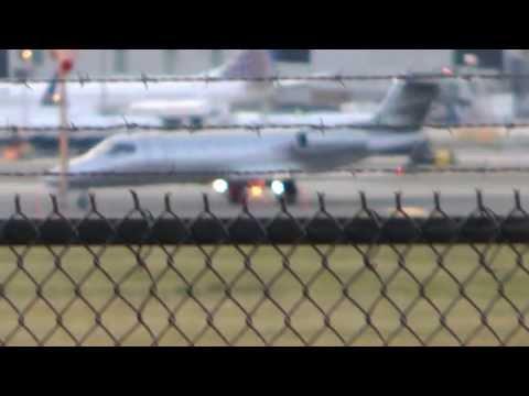 [HD] Fair Wind Air Charter Learjet 40 Philadelphia Intl Airport
