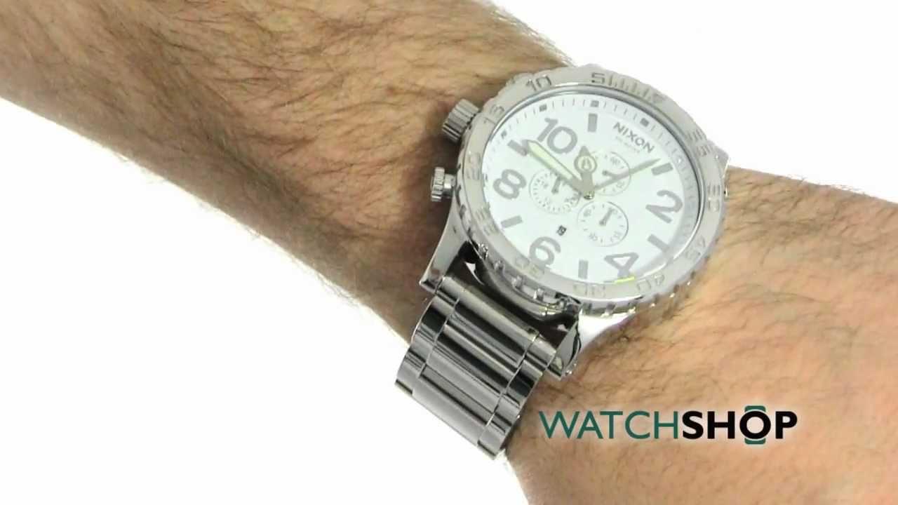 nixon 51 30 chrono instructions