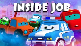 Inside Job | Road Rangers Cartoons | Videos For Children | Kids Channel
