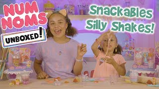 UNBOXED! | Num Noms | Season 3 Episode 1: Snackables Silly Shakes!