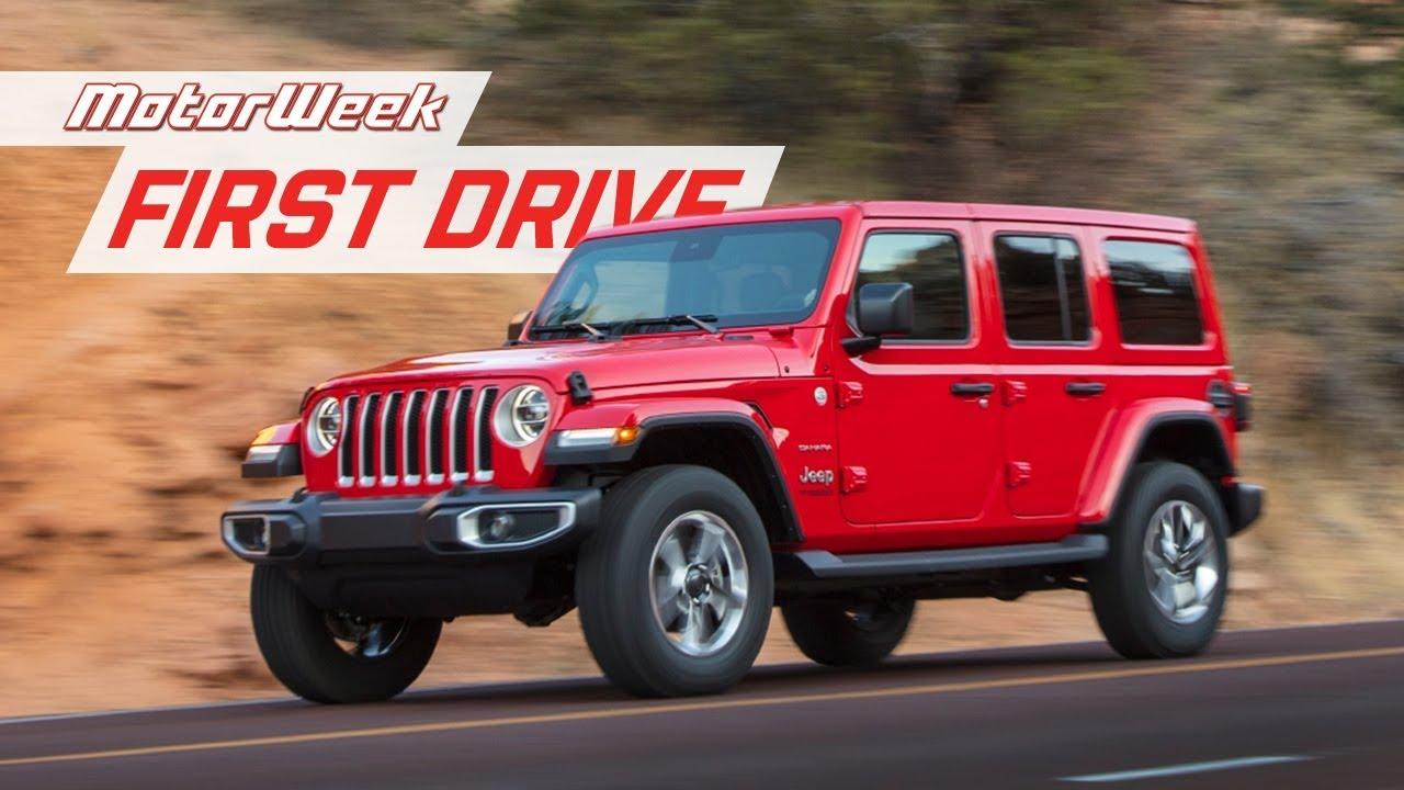2020 Jeep Wrangler Ecodiesel Motorweek First Drive Youtube