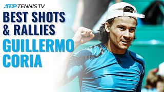 Guillermo Coria: Best Ever ATP Shots & Rallies!