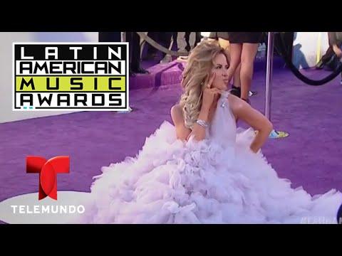 Los mejor y peor vestidos de los Latin AMAs | LAMAS | Entretenimiento thumbnail