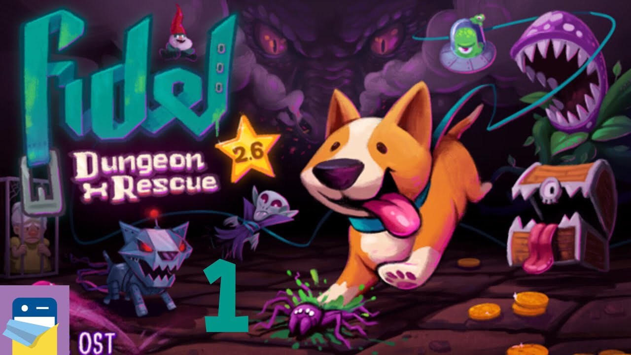 Fidel Dungeon Rescue' iOS Review: I Woof This Game