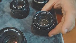 Мануальные советские объективы - Гелиос и др. Зачем они фотографу?