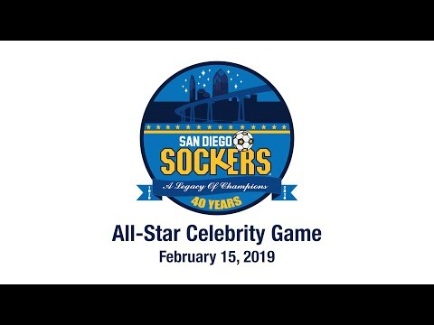 San Diego Sockers All-Star Celebrity Game