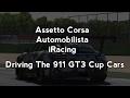 1 Car, 3 Titles : A 991 911 GT3 Cup Car Comparison (AC/AMS/iR)