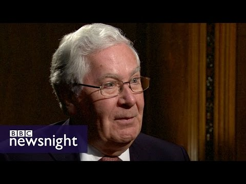 Mervyn King on Brexit, Scotland and the global economy FULL VERSION - BBC Newsnight