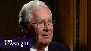 Mervyn King on Brexit, Scotland and the global economy FULL VERSION - BBC Newsnight