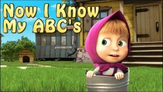 Masha and the Bear ABC's Song - Learn english Alphabet with Masha and the Bear - маша и медведь