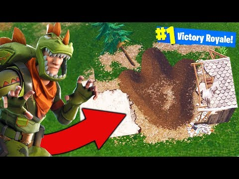 WHAT MONSTER DID THIS? - Secret Stuff - Fortnite Battle Royale