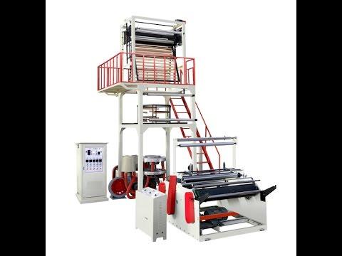Quy trình sản xuất túi nilon, Dây chuyền sản xuất túi ni lông