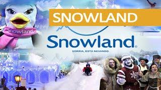 SNOWLAND Gramado - Patinação no Gelo, Esqui, Montanha de Neve, Snowboard e muito mais