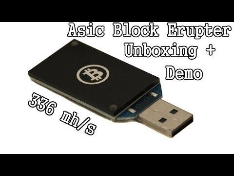 ASIC Block Erupter (336 Mh/s!)