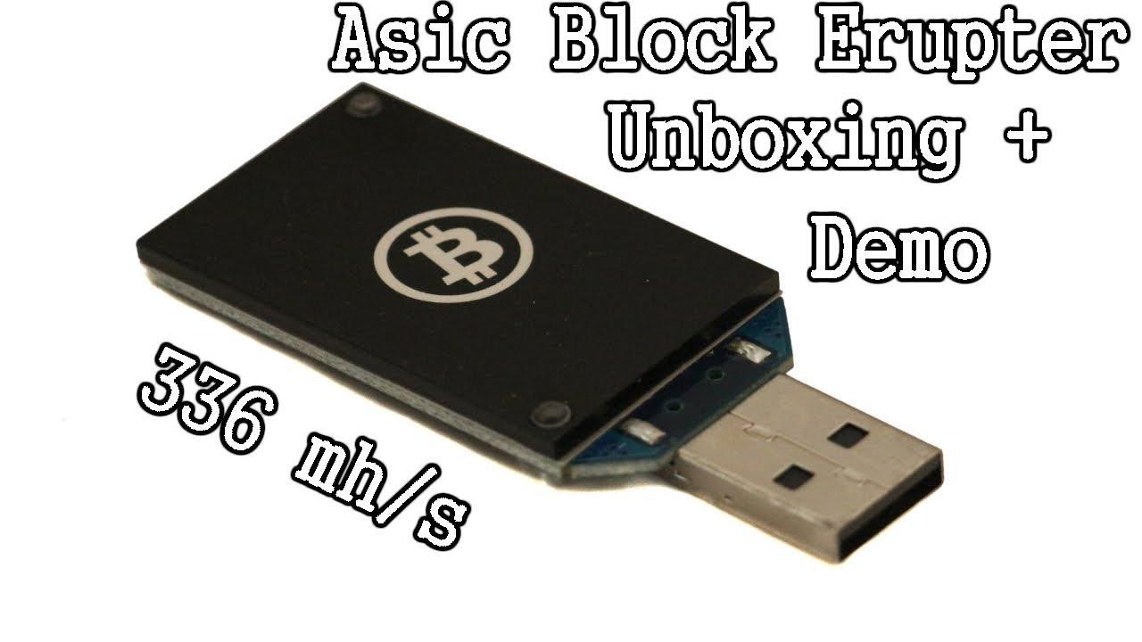 bitcoin usb blokas erupter