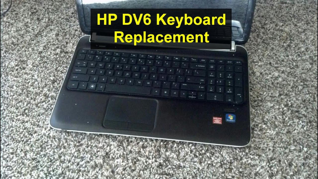 keyboard replacement laptop or notebook hp pavilion dv6 votd rh youtube com