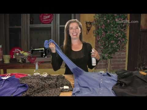 ToolGirl Mag Ruffman - DIY Dry Cleaning
