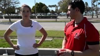 H-T VIDEO: Katy Bergen Gets a Lawn Bowling Lesson