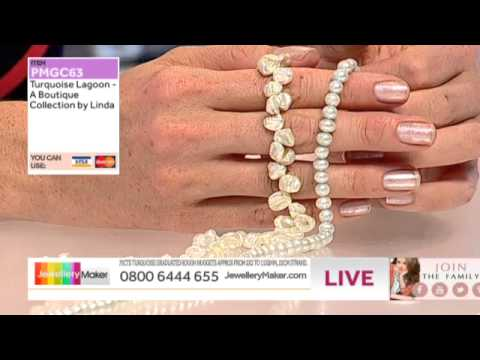 Jewellery Making with Diamonds - JewelleryMaker LIVE AM 19/07/14