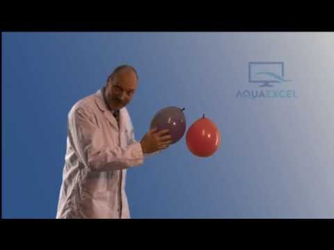 Aqua Excel Coagulation Flocculation and Balloons
