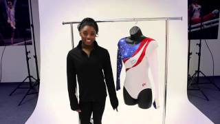 Win an Ultimate Brilliance leotard autographed by Simone Biles