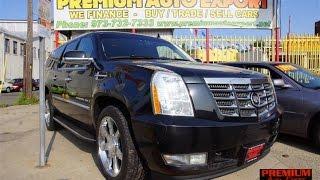 2007 Cadillac Escalade ESV $13,900 Newark, New Jersey