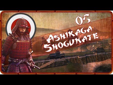 DEFENDING KYOTO - Ashikaga Shogunate (Legendary) - Total War: Shogun 2 - Ep.05!
