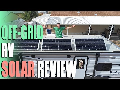 Off Grid RV Solar Review for Boondocking & Dry Camping - Full Time RV