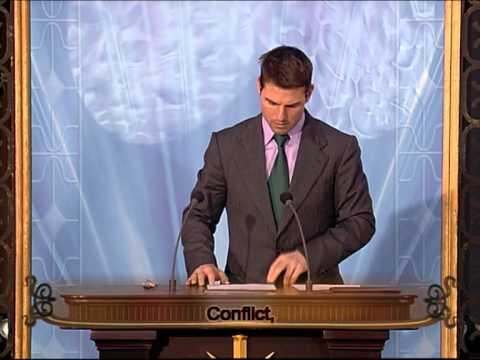 Tom Cruise - Scientology Madrid Opening