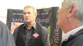 Rencontre avec Didier Burg - Producteur de safran