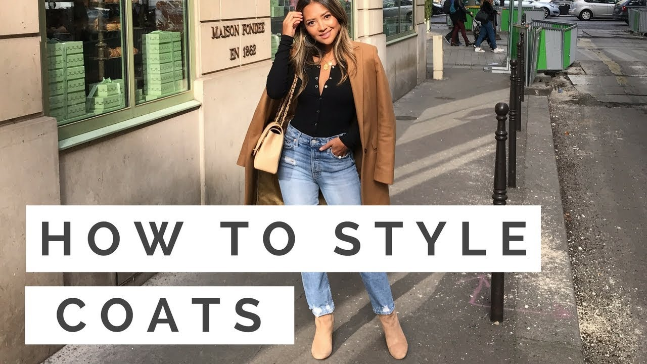 [VIDEO] - How to Style Coats | Coat Outfits + Lookbook | Outfit Ideas for Cold Weather 4