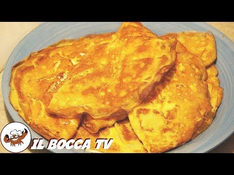 235 - Omelette alla ricotta...se un la mangi c'hai la botta! (piatto unico gustoso facile e veloce)