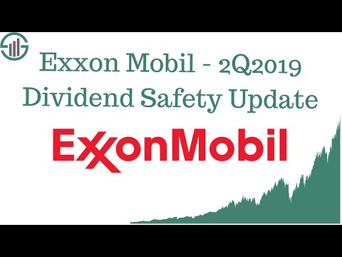 Exxon Mobil XOM Stock - 2Q2019 Dividend Safety Update (Energy Stock Analysis)