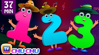 The NEW Numbers Song (Collection) | Learn to Count from 1 to 10 | ChuChu TV Number Rhymes for Kids