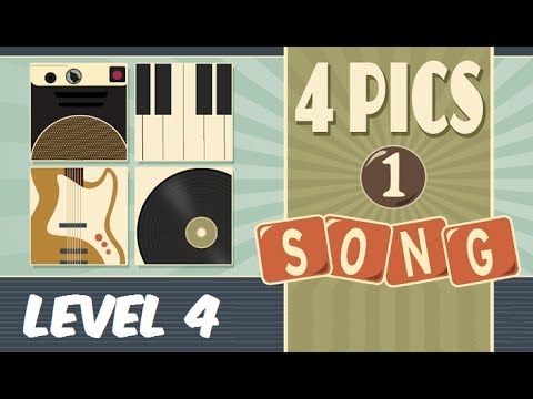 4 Pics 1 Song - Level 4 Answers 1-16 Soluciones Nivel 4