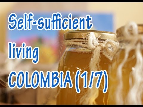 Self sufficient living farmers of Subachoque, Bogotá, Colombia: pt 1/7 - foundation - foundation