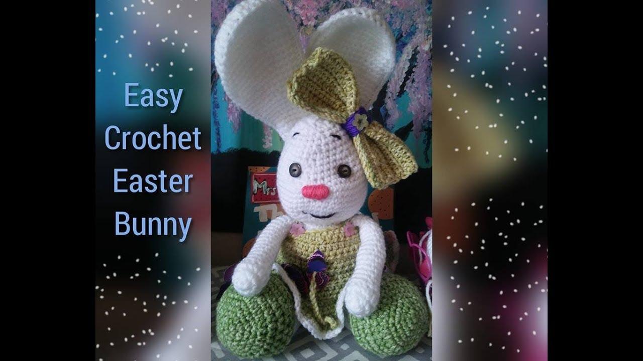 Pretty Bunny amigurumi in pink dress - Amigurumi Today   720x1280