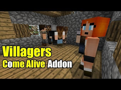 Villagers Come Alive Addon
