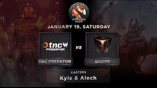 TNC Predator vs EHOME Game 1 (BO3) The Chongqing Major GroupStage