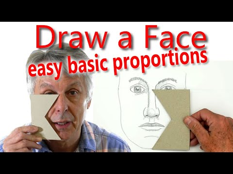 how-to-draw-a-face:-part-2-basic-proportions