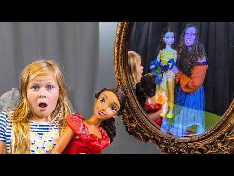 ASSISTANT Magic Mirror Hunt for Elena of Avalor and Belle Toys