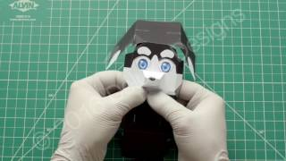 Deluxe Designs - 3D Husky Assembly Instructions