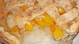 Peach Cobbler Recipe: Old Fashioned & Homemade With A Buttery Pie Crust Recipe