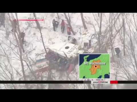 Nine pronounced dead in helicopter crash, Japan | firefighting