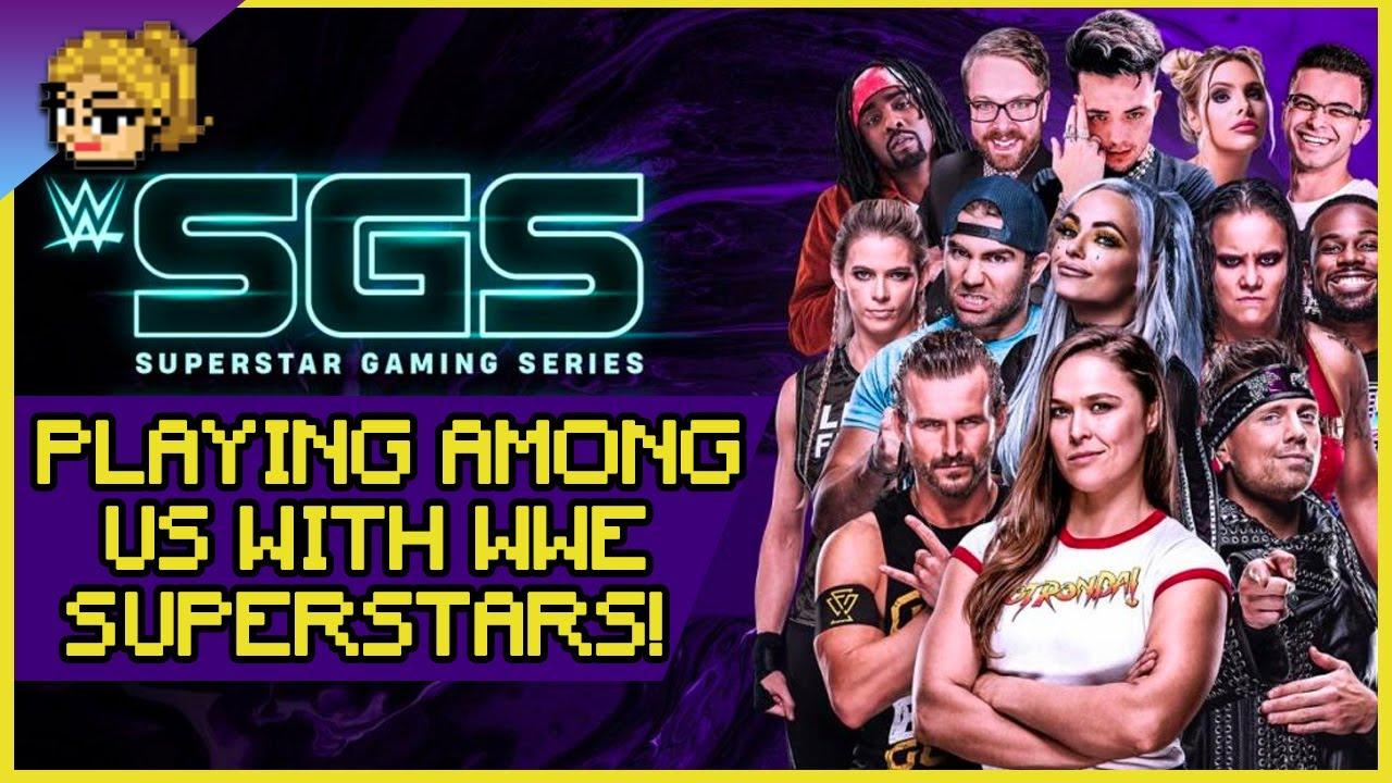 Ronda VS WWE Superstars & Celebs in Among Us & 2K Battlegrounds!