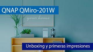 QNAP QMiro-201W: Router WiFi Mesh triple banda AC2200 con QuWAN, servidores VPN y FTPES