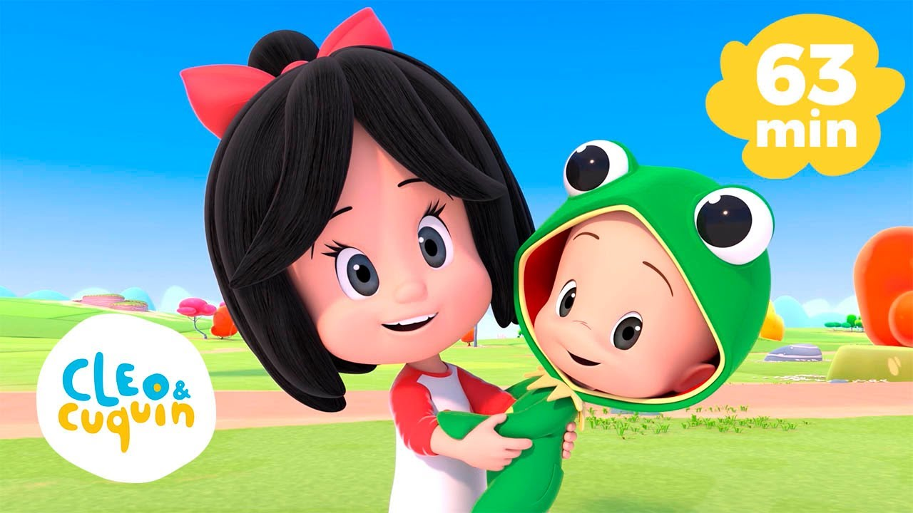 Cucu Dance and more Nursery Rhymes of Cleo and Cuquin   Songs for Kids